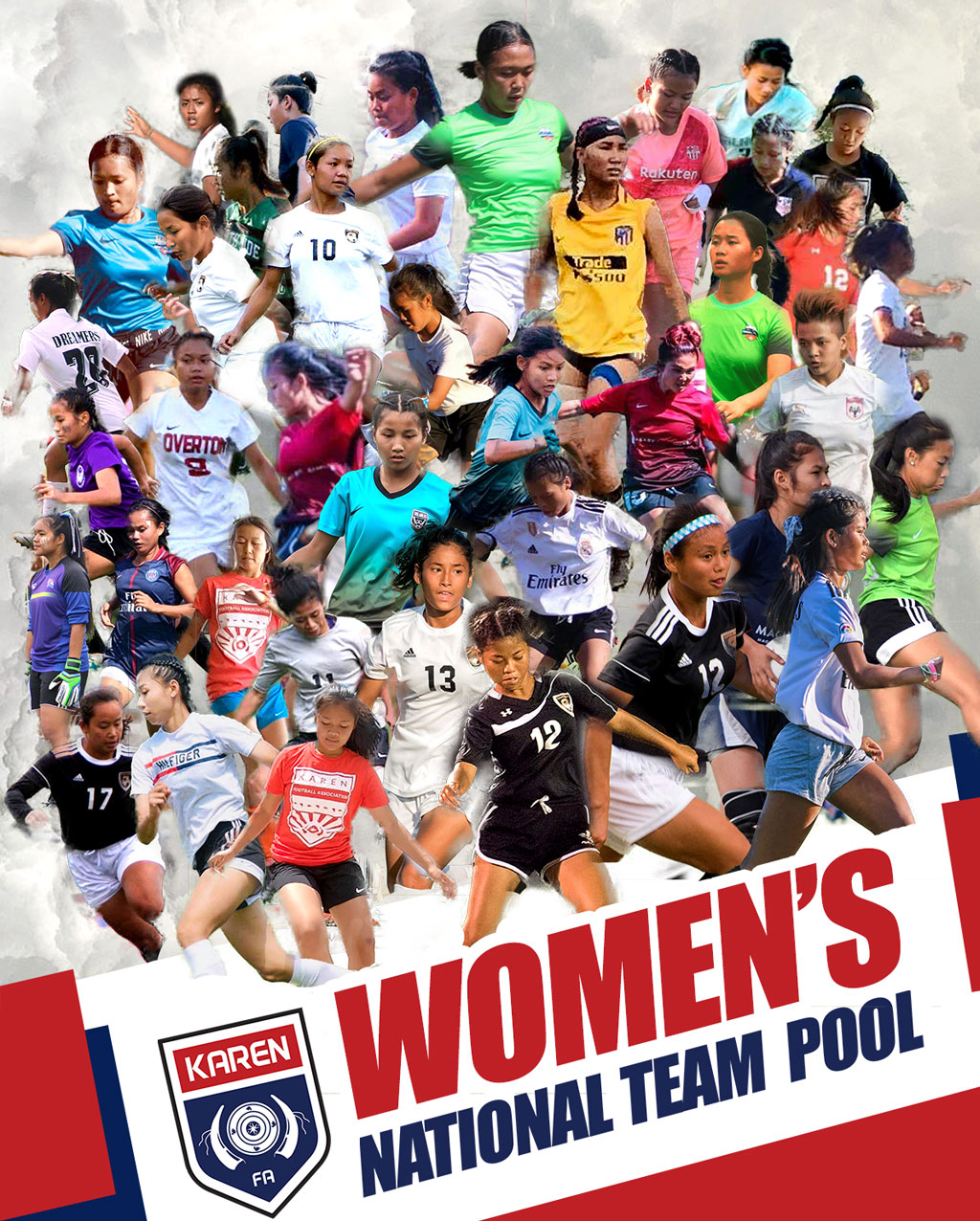 Karen Womens National team Pool 2020