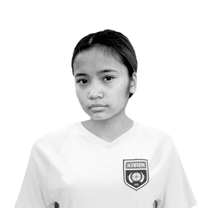 Karen Women's National Team Player Tkee Htoo